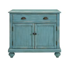 Farmhouse Hall Chest - Robins Egg