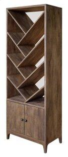 Bengal Manor Mango Wood Angled 2 Door Etagere Product Image