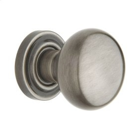 Antique Nickel 5000 Estate Knob