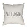 "Bahhumbug HDY-003 18"" x 18"""