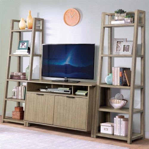 Perspectives - Entertainment Console - Sun-drenched Acacia Finish
