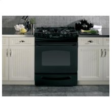 "GE® 30"" Slide-In Gas Range"