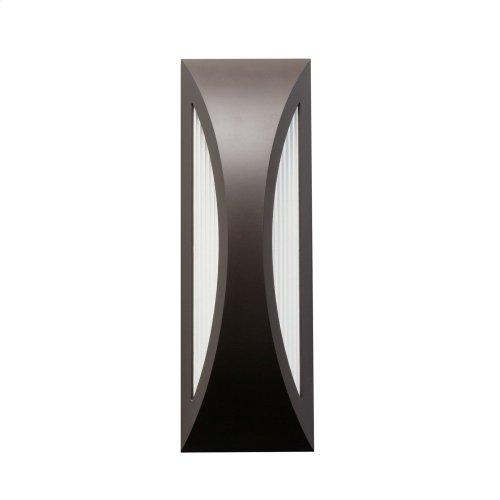 "Cesya 18"" 1 Light LED Wall Light Architectural Bronze"
