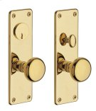Lifetime Polished Brass Reading Entrance Trim Product Image