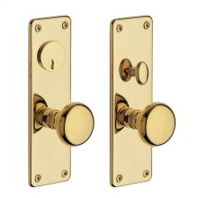Lifetime Polished Brass Reading Entrance Trim