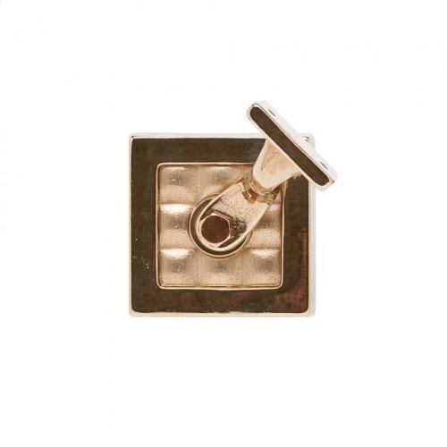 Designer Textures Handrail Bracket Bronze Dark Lustre with Acorn Weave Leather