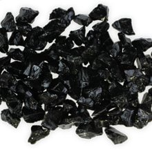 Glass for Fire Vessels Black