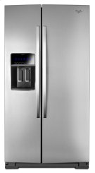 25 cu. ft. Gold® Counter Depth Side-by-Side Refrigerator with MicroEdge® Shelves Product Image