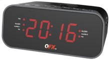 Alarm Clock Radio With Dual Usb Charging