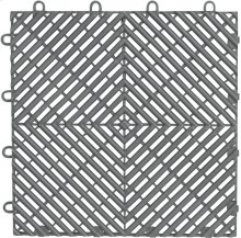 "Gladiator® 12"" x 12"" Drain Tile (4-Pack) - Silver Tread"