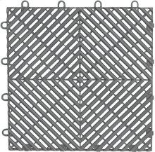 "Gladiator® 12"" x 12"" Drain Tile (4-Pack) - Silver Tread"