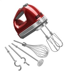 KitchenAid® 9-Speed Hand Mixer - Candy Apple Red