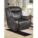 Leather Rocker Recliner with Power Headrest (available in Fabric) Product Image