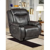 Leather Rocker Recliner with Power Headrest (available in Fabric)