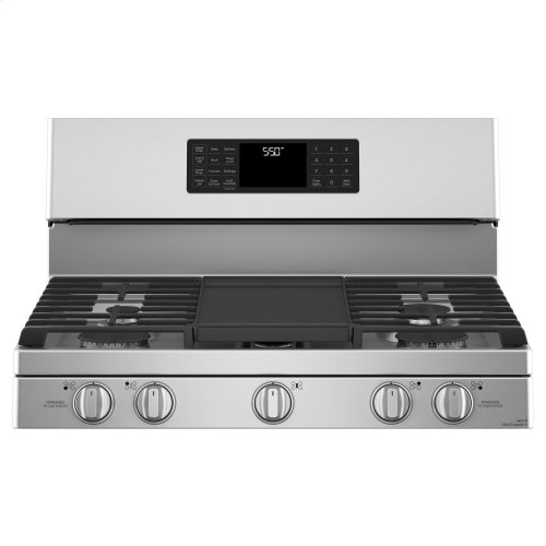 """Café 30"""" Free-Standing Gas Double Oven with Convection Range"""