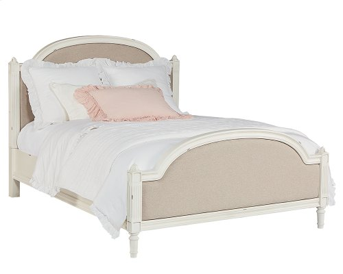 Tan Sisters Upholstered Full Bed