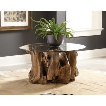 Rustic Teak Root Coffee Table