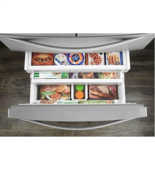 36-inch Wide 4-Door Refrigerator with More Flexible Storage - 26 cu. ft.