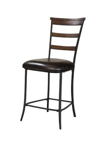 Cameron Ladderback Non Swivel Counter Stool