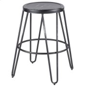 Avery Metal Counter Stool - Vintage Black Product Image