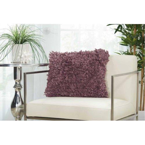 """Shag Dl660 Lavender 1'5"""" X 1'5"""" Throw Pillows"""