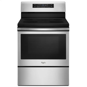 Whirlpool5.3 cu. ft. Guided Electric Front Control Range with Fan Convection Cooking