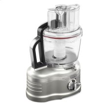 Pro Line® Series 16-Cup Food Processor with Die Cast Metal Base and Commercial-Style Dicing Kit - Sugar Pearl Silver