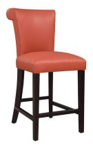 "Emerald Home Briar III 24"" Bar Stool Persimmon Orange D109-24-07 Product Image"