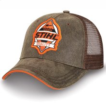 Stay on trend with this washed cap.