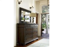 Aunt Peggy's Drawer Dresser with Mirror - Molasses