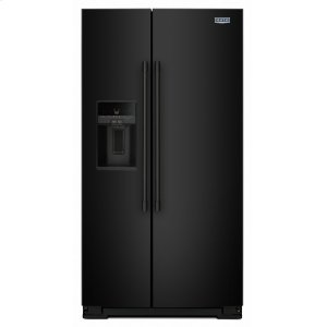 MAYTAG36- Inch Wide Side-by-Side Refrigerator with External Ice and Water- 26 Cu. Ft.