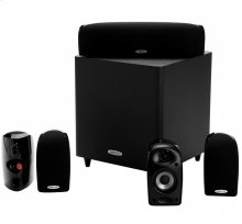 6-piece home theater system in Black