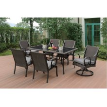 7 Piece Outdoor Dining Set