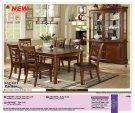Carlton Dining Table with Leaf includes tbl/4 chairs Product Image