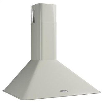 "Broan 290 CFM, 30"" Wall-Mounted Chimney Hood in White"