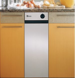 """GE Monogram® 12"""" Stainless Steel Built-In Compactor- Out of Carton"""
