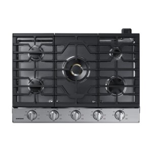 "Samsung Appliances30"" Gas Cooktop with 22K BTU Dual Power Burner in Stainless Steel"