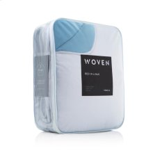 Reversible Bed in a Bag - Split Queen White