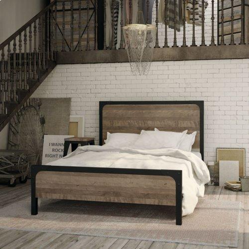 Cordoba Regular Footboard Bed (birch) - Queen
