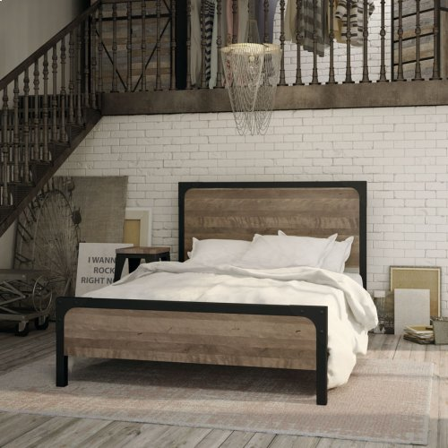 Cordoba Regular Footboard Bed (birch) - Full