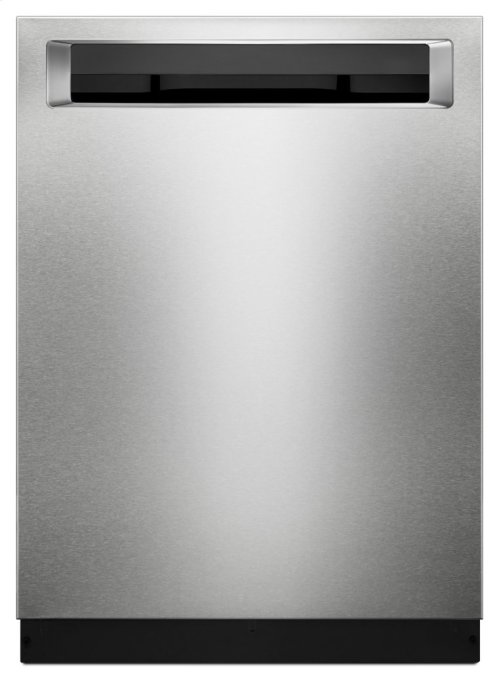 46 DBA Dishwasher with Third Level Rack and PrintShield Finish, Pocket Handle - PrintShield Stainless