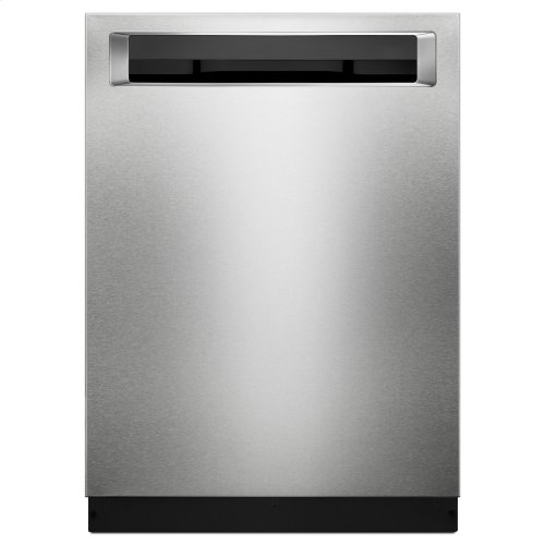 46 DBA Dishwasher with Third Level Rack and PrintShield Finish, Pocket Handle - Stainless Steel with PrintShield™ Finish