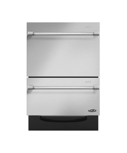 """24"""" Double Dishdrawer Tall***FLOOR MODEL CLOSEOUT PRICING***"""