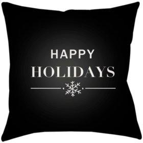 "Happy Holidays PHDHH-001 18"" x 18"""