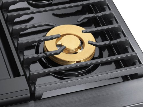 """36"""" Gas Rangetop, Graphite Stainless Steel, Natural Gas"""