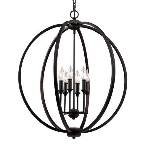 6 - Light Globe Pendant
