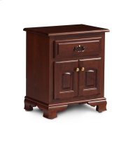 Classic Nightstand with Doors Product Image