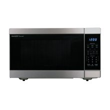 1.6 cu. ft. 1100W Stainless Steel Countertop Microwave Oven