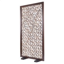 Corazon Abaca Divider Brown Wash Frame, Natural