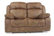 Como Fabric Power Reclining Loveseat